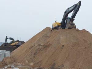разработка карьера песка