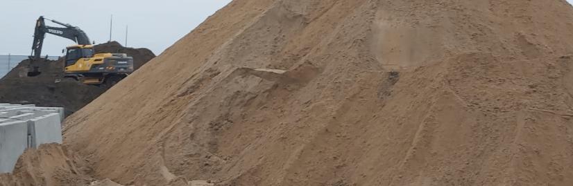 купить песок с доставкой СПб и Ленинградская область