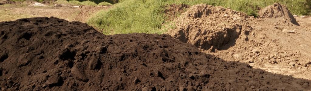 купить грунт плодородный с доставкой в спб и лен области