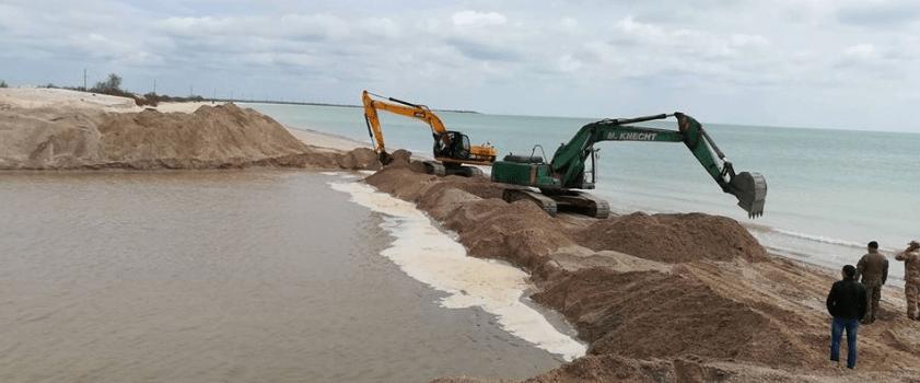 морской песок высокого качества