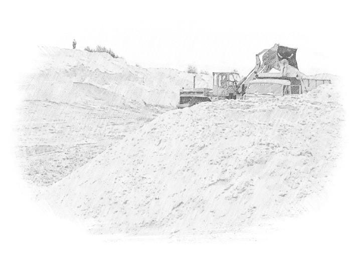 использование речного песка