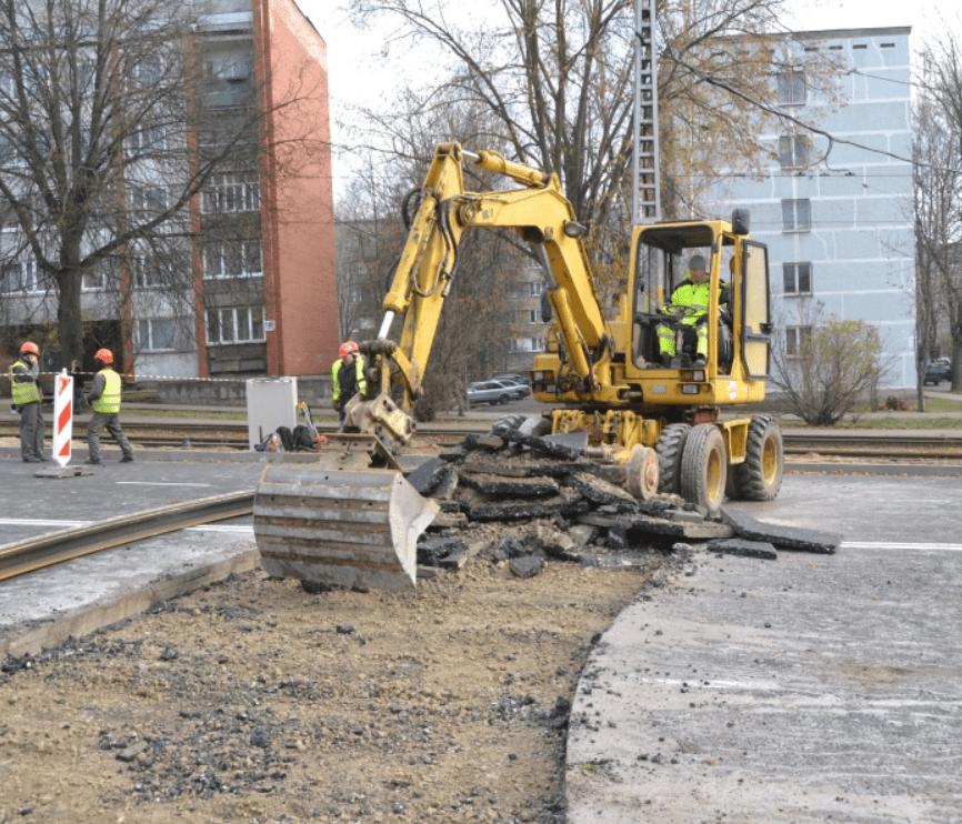 вторичный щебень от демонтажа дороги