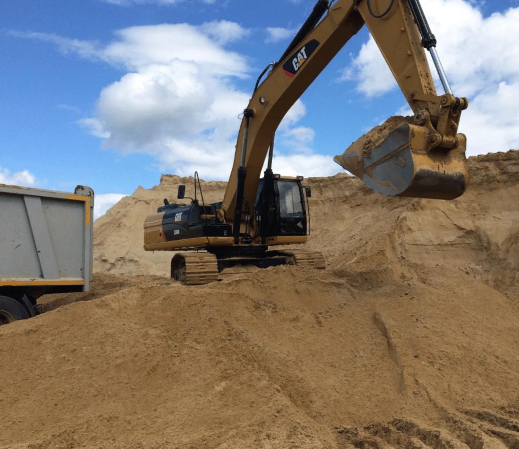 Средний песок