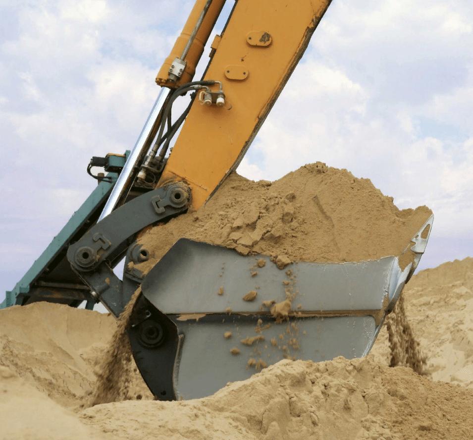 отгрузка среднего песка