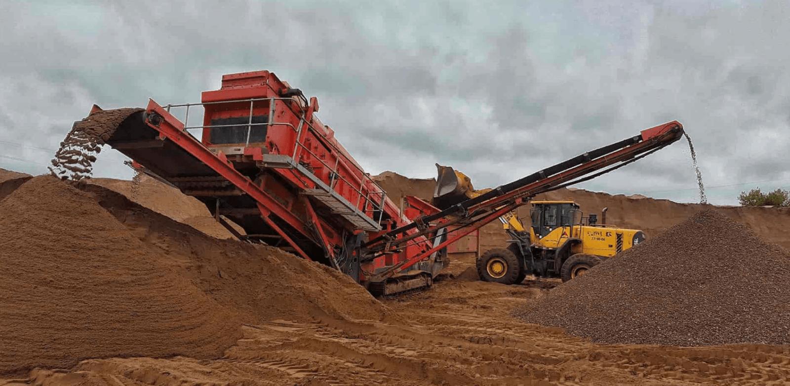 очистка и хранение песка