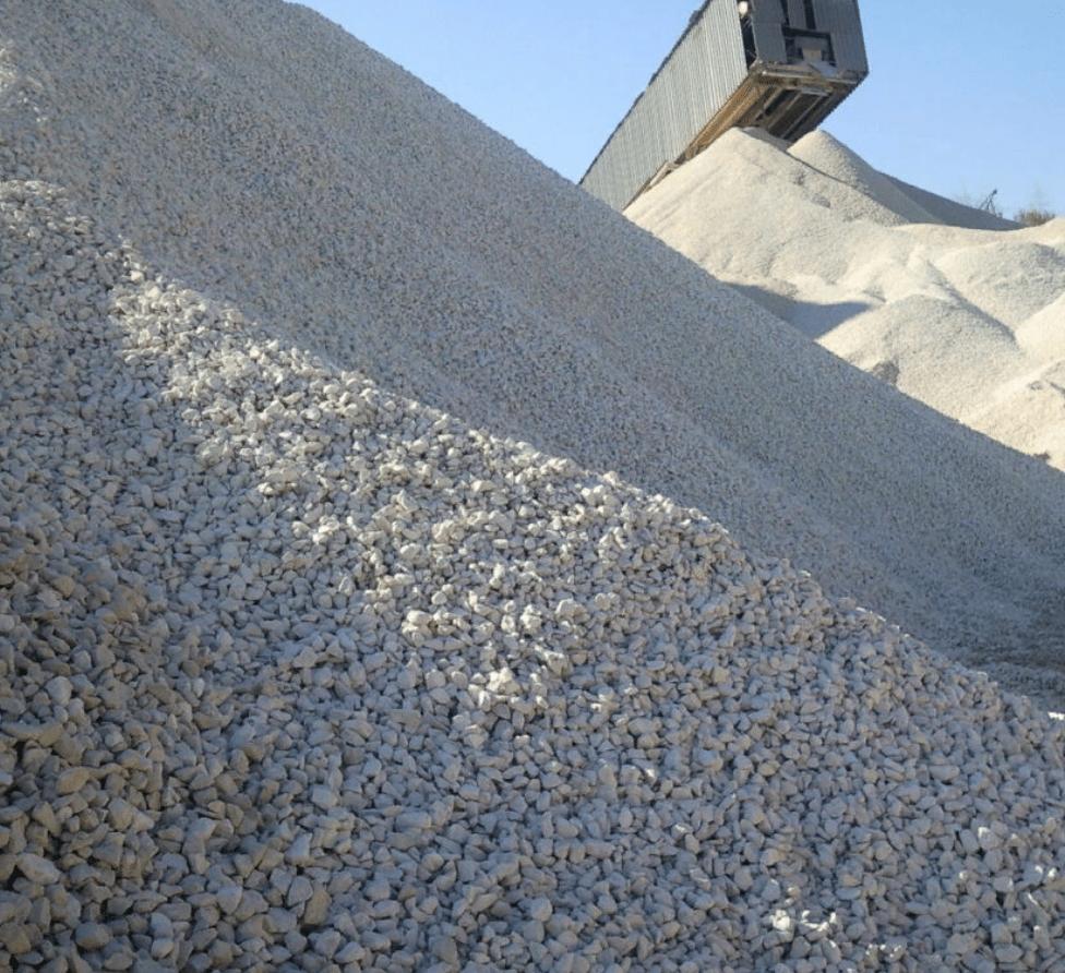 производство известнякового щебня 5-20