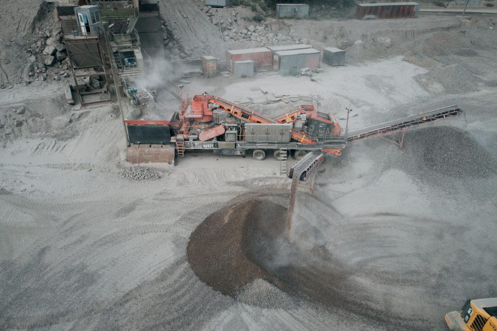 производство гранитного щебня в СПБ